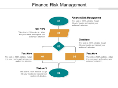 Finance Risk Management Ppt PowerPoint Presentation Layout Cpb