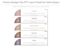 Finance Strategic Plan Ppt Layout Powerpoint Slide Designs