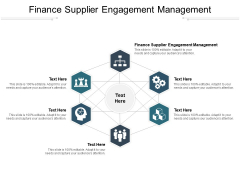 Finance Supplier Engagement Management Ppt PowerPoint Presentation Outline Picture Cpb Pdf