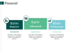 Financial Advanced Ppt PowerPoint Presentation Pictures Inspiration