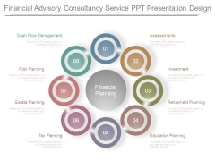 Financial Advisory Consultancy Service Ppt Presentation Design