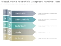 Financial Analysis And Portfolio Management Powerpoint Ideas