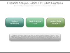 Financial Analysis Basics Ppt Slide Examples
