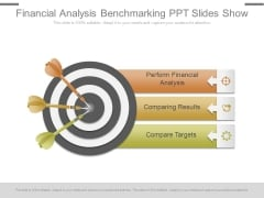 Financial Analysis Benchmarking Ppt Slides Show