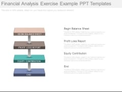 Financial Analysis Exercise Example Ppt Templates
