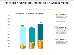 Financial Analysis Of Companies On Capital Market Ppt PowerPoint Presentation Show Background