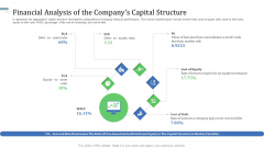 Financial Analysis Of The Companys Capital Structure Ideas PDF