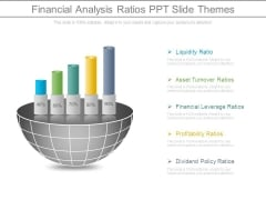 Financial Analysis Ratios Ppt Slide Themes