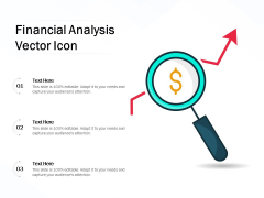 Financial Analysis Vector Icon Ppt PowerPoint Presentation Summary Structure PDF
