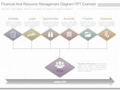 Financial And Resource Management Diagram Ppt Example