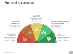 Financial Assessment Ppt PowerPoint Presentation Styles