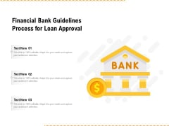 Financial Bank Guidelines Process For Loan Approval Ppt PowerPoint Presentation File Icon PDF