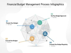 Financial Budget Management Process Infographics Ppt Outline Influencers PDF