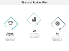 Financial Budget Plan Ppt PowerPoint Presentation Inspiration Skills Cpb