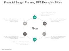 Financial Budget Planning Ppt Examples Slides
