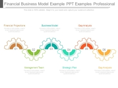 Financial Business Model Example Ppt Examples Professional