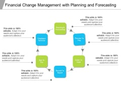 Financial Change Management With Planning And Forecasting Ppt PowerPoint Presentation File Template PDF