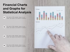 Financial Charts And Graphs For Statistical Analysis Ppt Powerpoint Presentation Show Layout