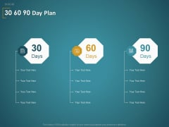 Financial Consultancy Proposal 30 60 90 Day Plan Ppt PowerPoint Presentation Infographic Template Demonstration PDF