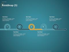 Financial Consultancy Proposal Roadmap Five Flow Process Ppt PowerPoint Presentation Styles PDF