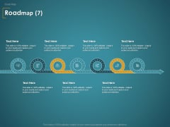 Financial Consultancy Proposal Roadmap Seven Flow Process Ppt PowerPoint Presentation Show Brochure PDF