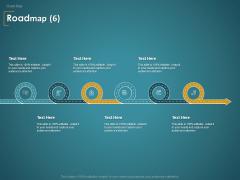 Financial Consultancy Proposal Roadmap Six Flow Process Ppt PowerPoint Presentation Show Information PDF