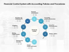 Financial Control System With Accounting Policies And Procedures Ppt PowerPoint Presentation Summary Ideas PDF