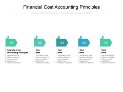 Financial Cost Accounting Principles Ppt PowerPoint Presentation Model Graphics Tutorials Cpb