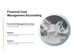 Financial Cost Management Accounting Ppt PowerPoint Presentation Icon Introduction Cpb