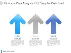 Financial Data Analysis Ppt Samples Download
