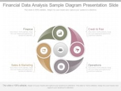 Financial Data Analysis Sample Diagram Presentation Slide