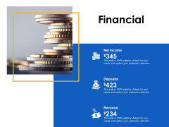 Financial Deposits Revenue Ppt Powerpoint Presentation Model Layout