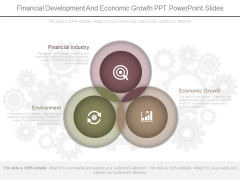 Financial Development And Economic Growth Ppt Powerpoint Slides