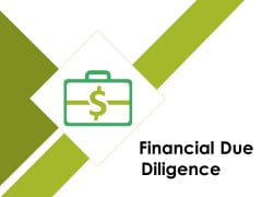 Financial Due Diligence Ppt PowerPoint Presentation Icon Pictures