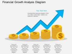 Financial Growth Analysis Diagram Powerpoint Template