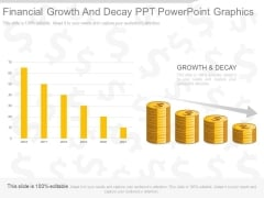 Financial Growth And Decay Ppt Powerpoint Graphics