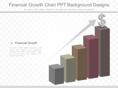 Financial Growth Chart Ppt Background Designs