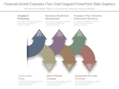 Financial Growth Examples Flow Chart Diagram Powerpoint Slide Graphics