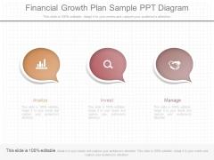 Financial Growth Plan Sample Ppt Diagram