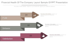 Financial Health Of The Company Layout Sample Of Ppt Presentation