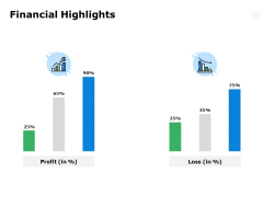 Financial Highlights Ppt PowerPoint Presentation Icon Templates