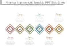 Financial Improvement Template Ppt Slide Styles