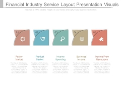 Financial Industry Service Layout Presentation Visuals