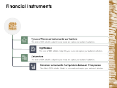 Financial Instruments Ppt Powerpoint Presentation Infographics Pictures