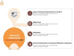 Financial Instruments Ppt PowerPoint Presentation Layouts Good