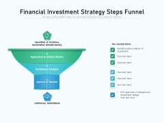 Financial Investment Strategy Steps Funnel Ppt PowerPoint Presentation File Portfolio PDF