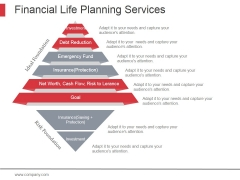 Financial Life Planning Services Ppt PowerPoint Presentation Portfolio