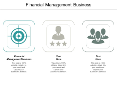 Financial Management Business Ppt PowerPoint Presentation Influencers Cpb