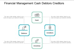 Financial Management Cash Debtors Creditors Ppt PowerPoint Presentation Summary Mockup