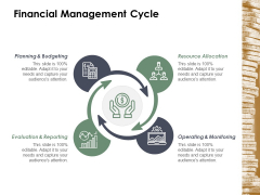 Financial Management Cycle Ppt Powerpoint Presentation Styles Guidelines